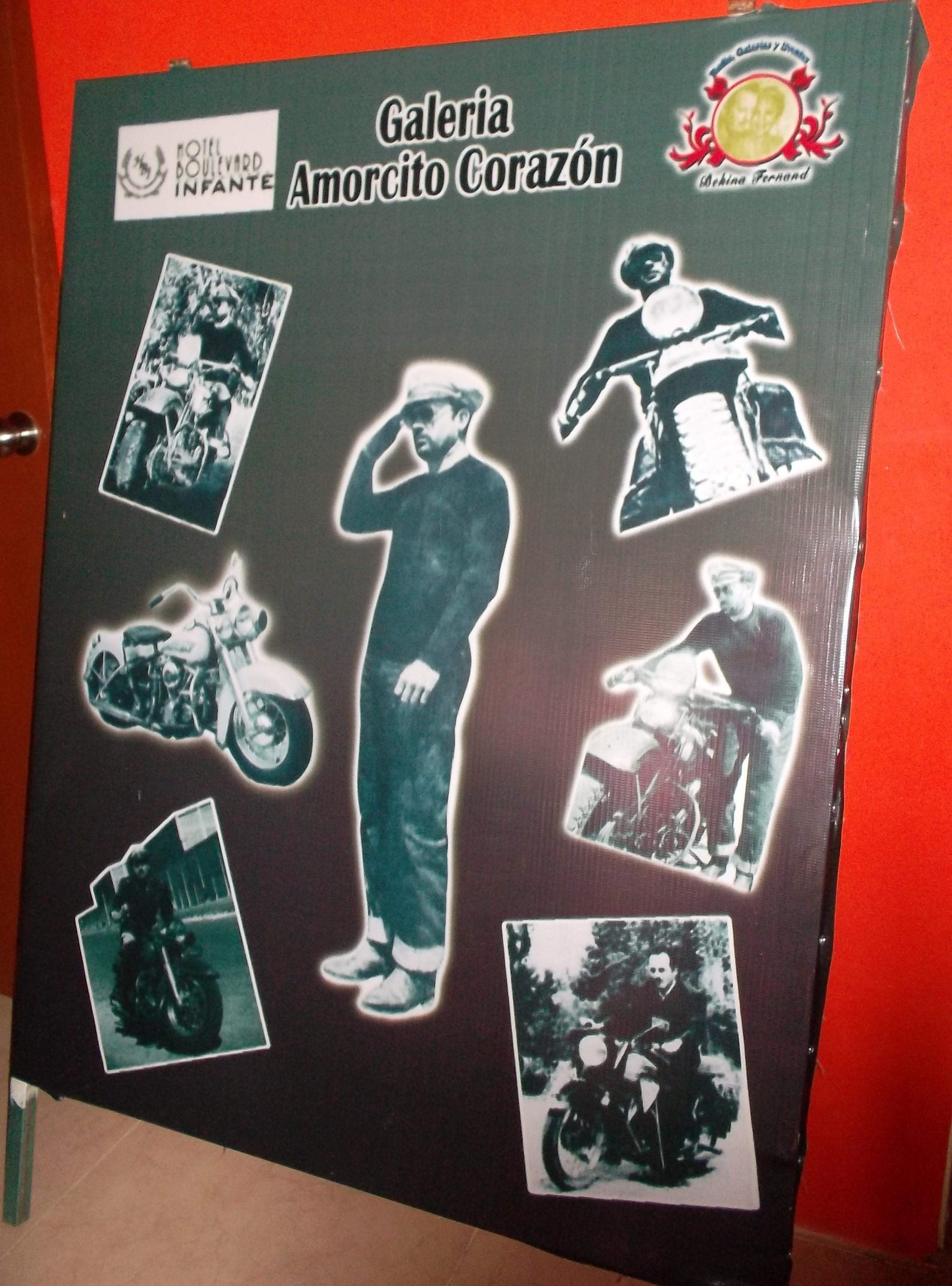 Harley Davidson de Pedro Infante, tema de un collage
