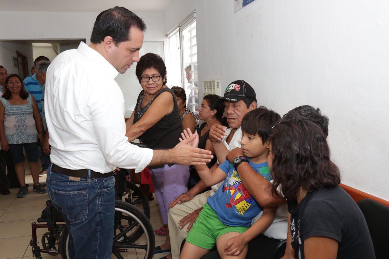 Más de 100 mil consultas en módulos de salud de Mérida