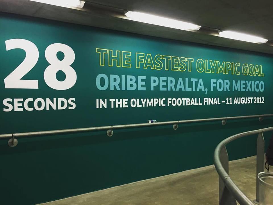 Destacan en Wembley gol de Oribe como 'el más rápido'