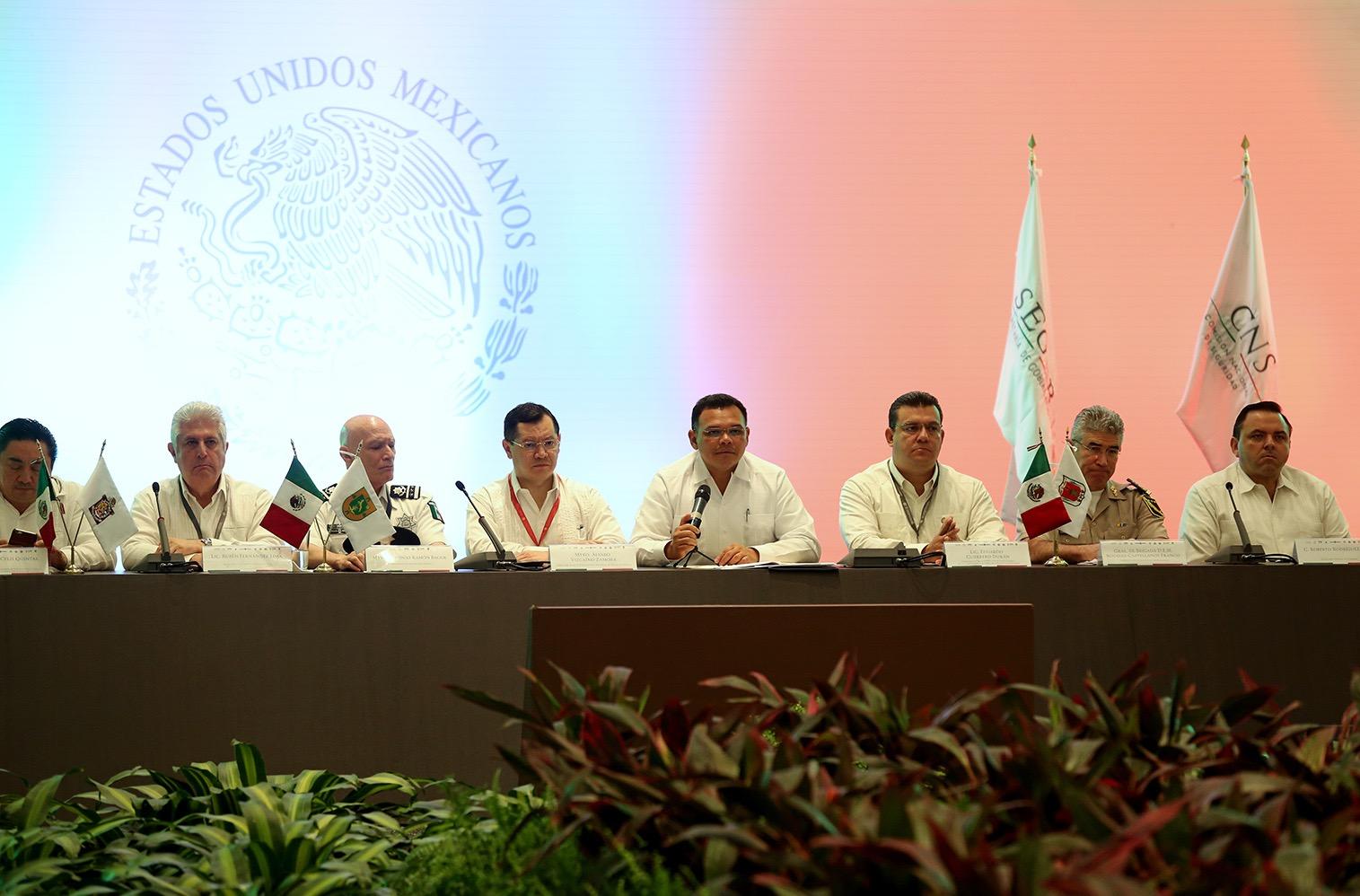 Analizarán desde Yucatán esquemas de seguridad nacional