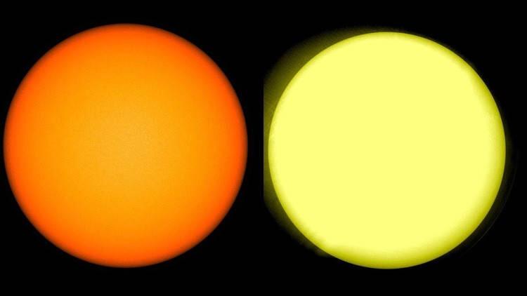 Detectan que el sol se queda 'en blanco'
