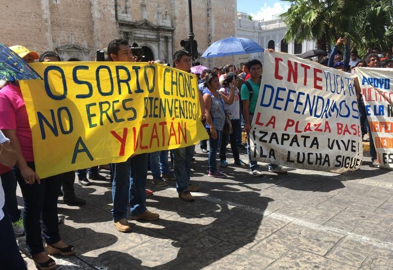 Unen fuerzas corrientes magisteriales en Yucatán