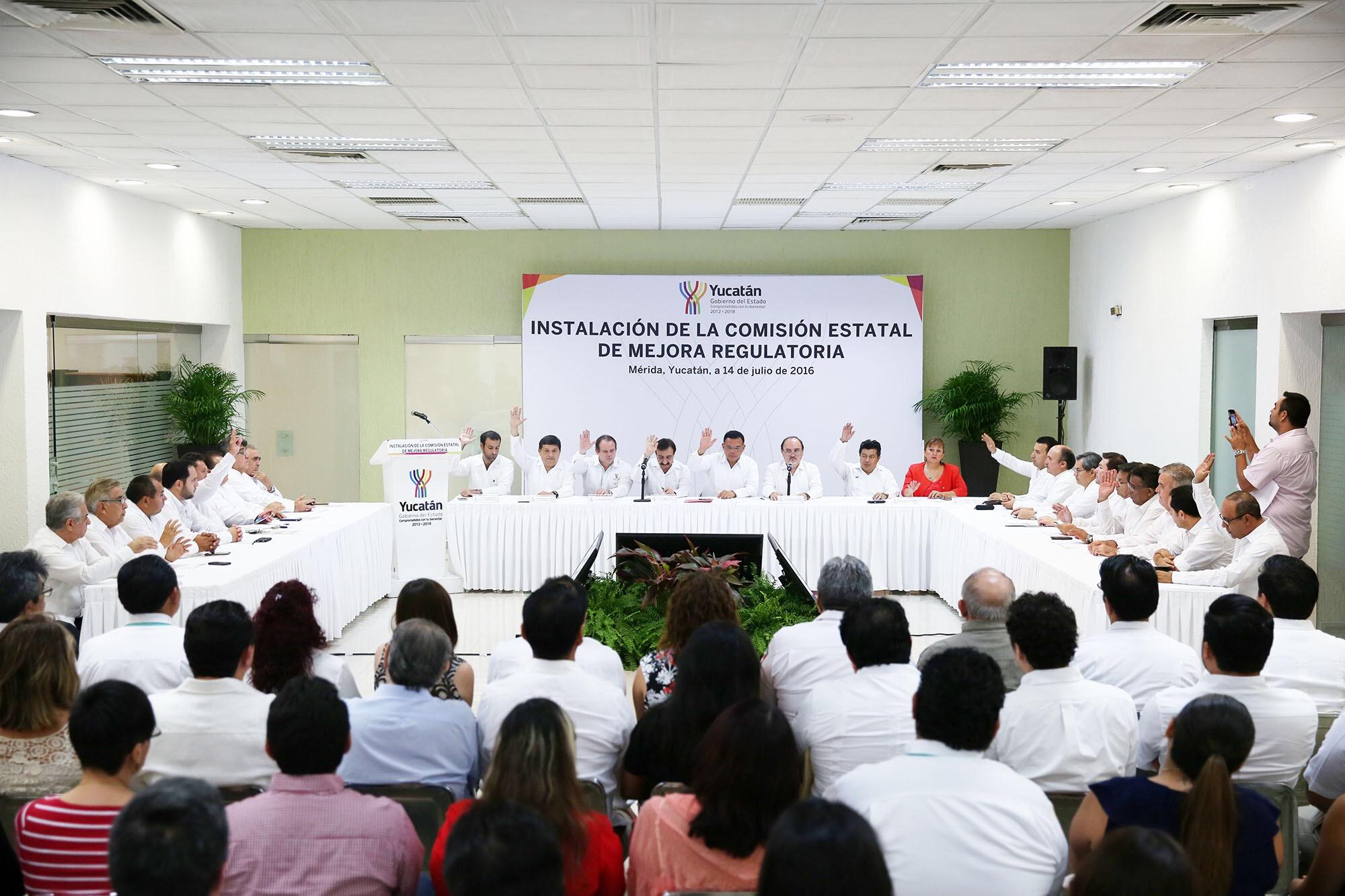 Instalan en Yucatán Comité de Mejora Regulatoria