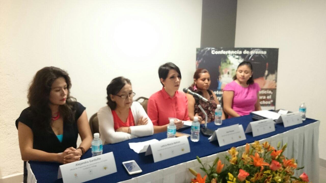 Empujan justicia contra violencia a mujeres mayas