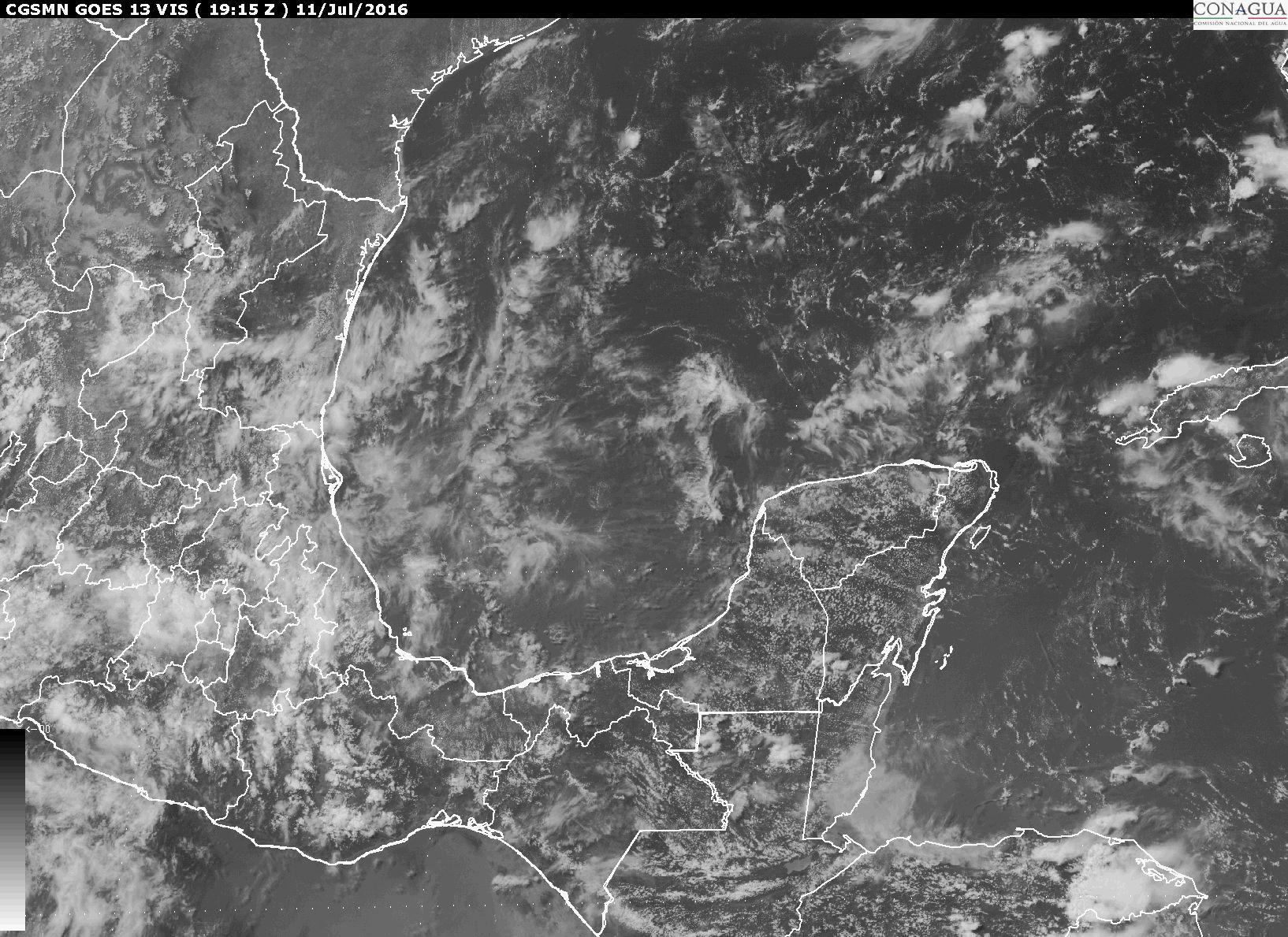 Seguirán lluvias esta semana en Yucatán