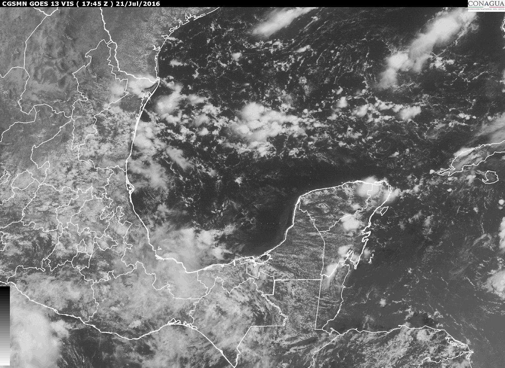 Prevén lluvias para próximos días por vaguada
