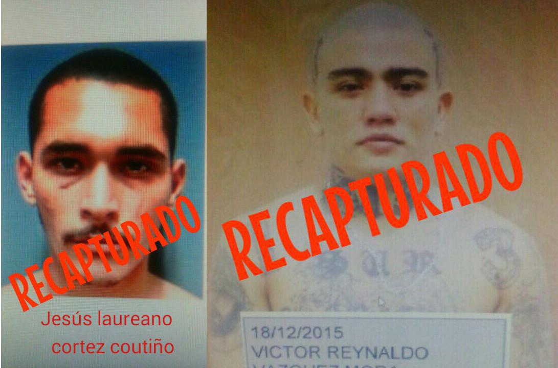 Recapturan en Yucatán a fugitivos de penal de Cancún