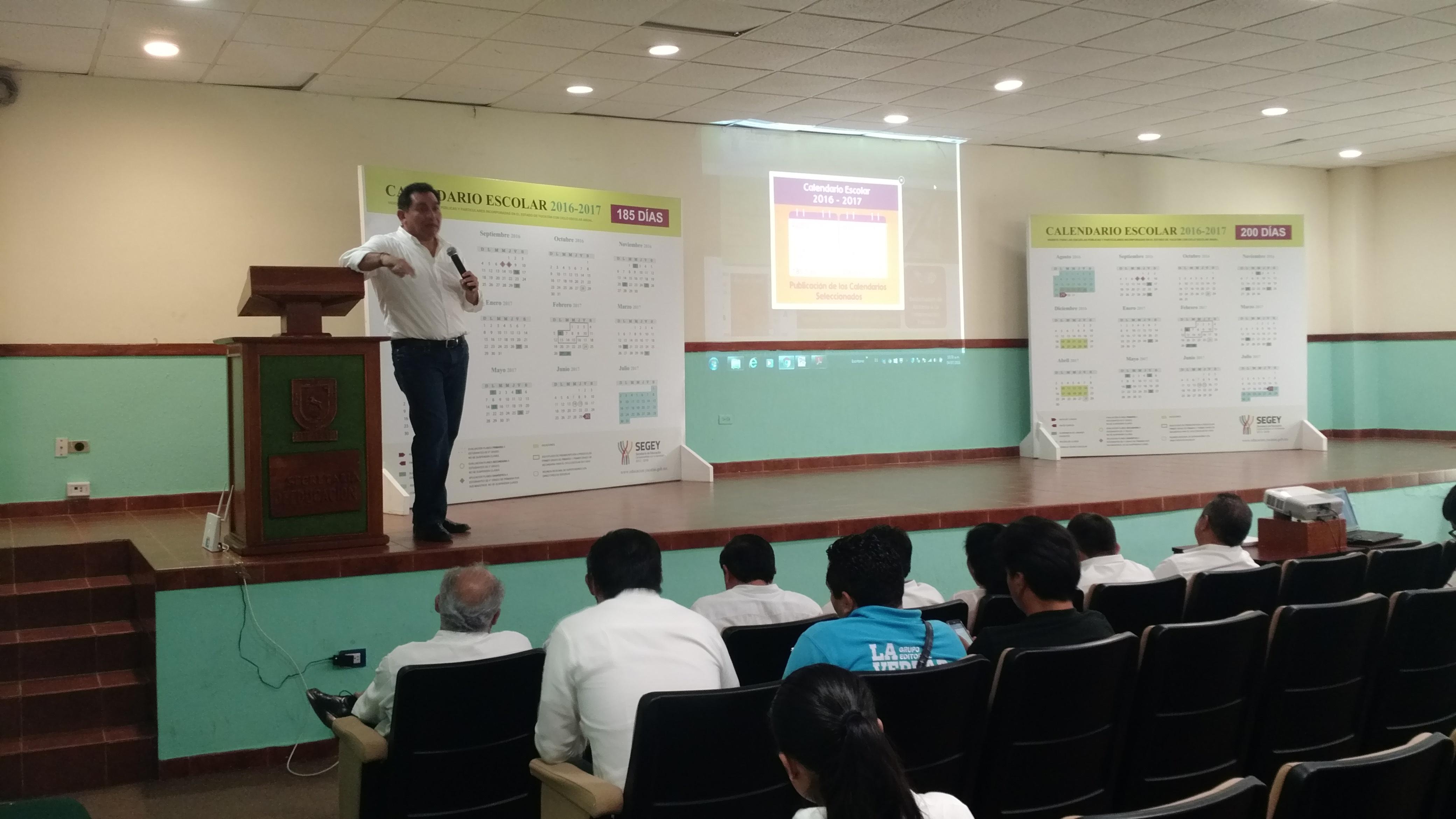 Mayoría de escuelas yucatecas opta por 185 días de clases