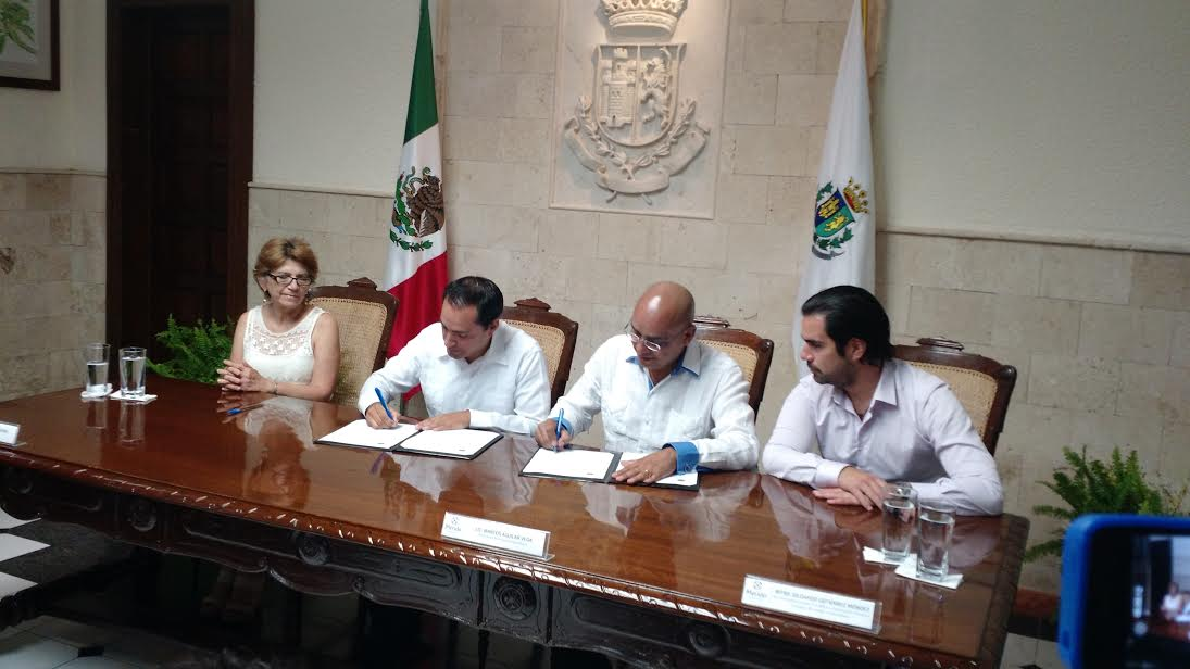Mérida y Querétaro, unidas por Acuerdo de Hermanamiento