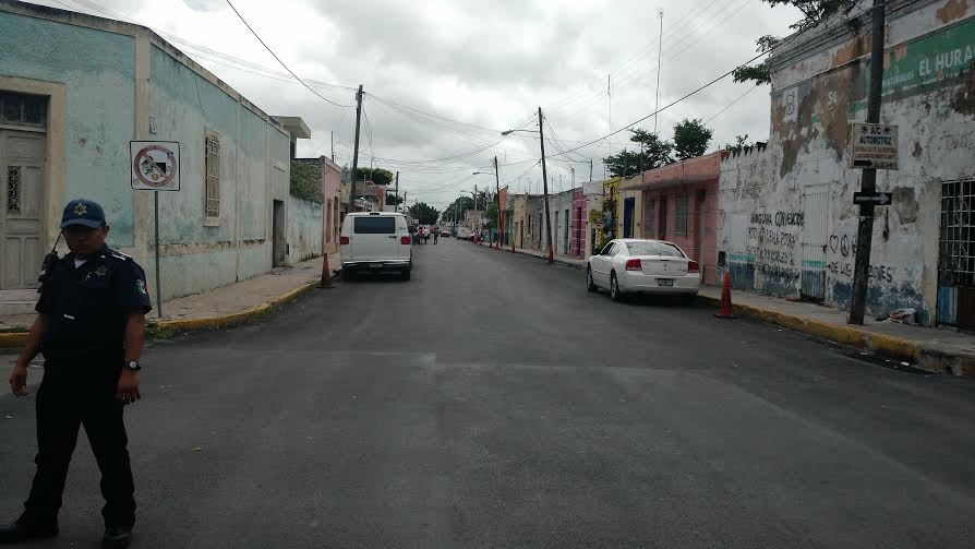 Antiguas, gran parte de calles de Mérida