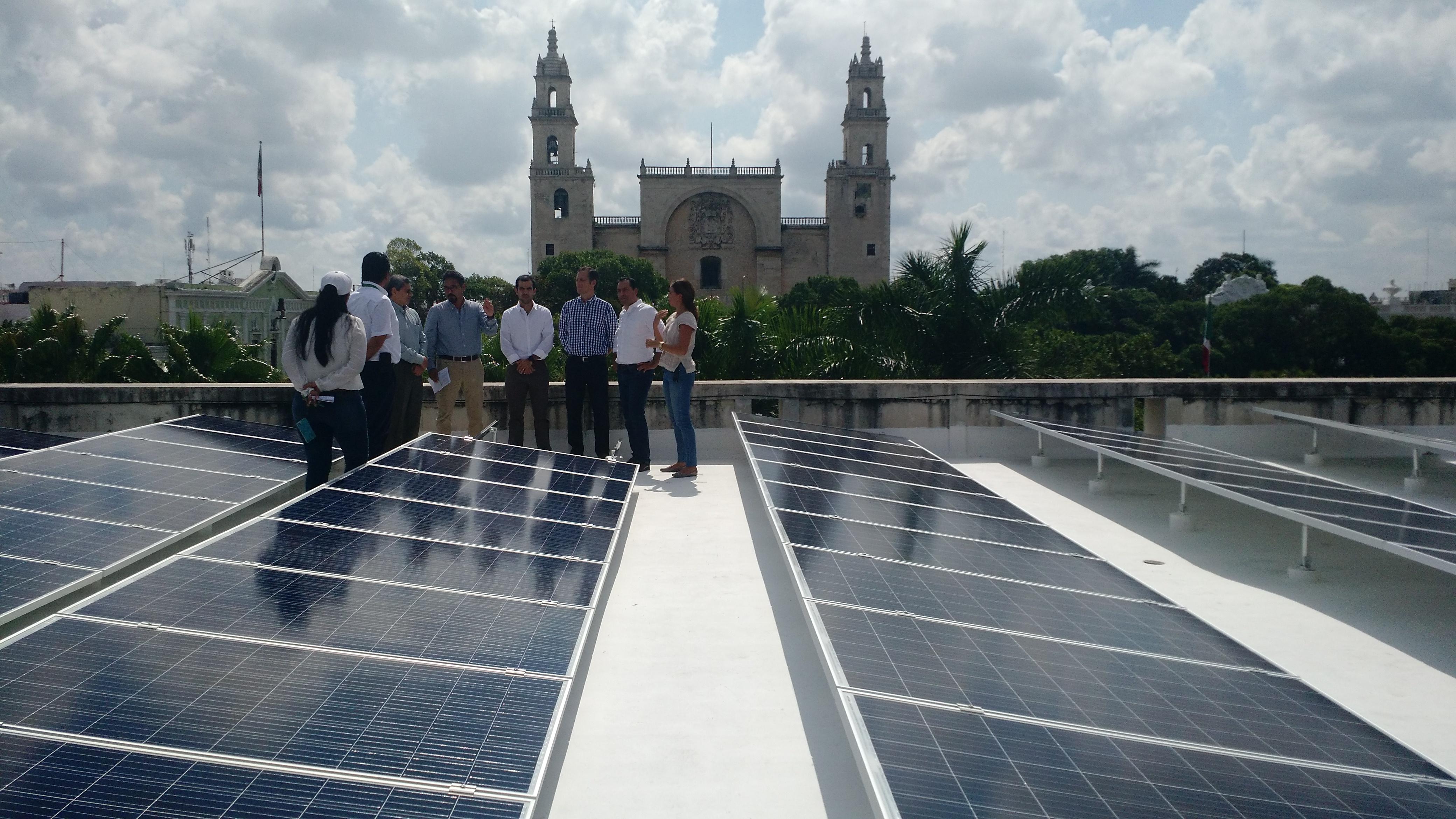 Aprovechará Mérida abundante sol