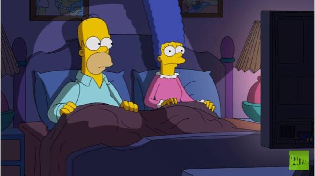 ¿Por quién votará Homero Simpson?