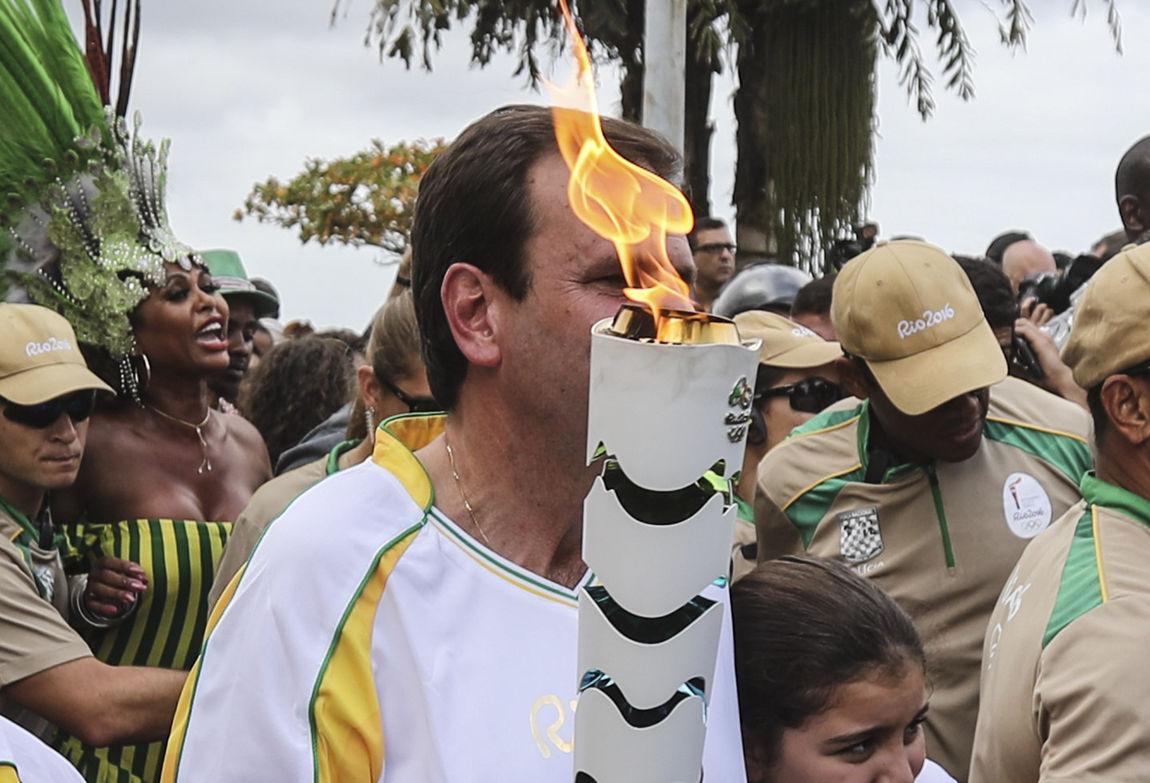 La antorcha olímpica llega a Brasil