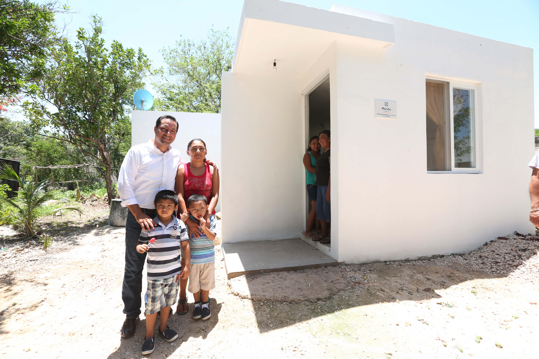 Acciones de vivienda en comisarías de Mérida