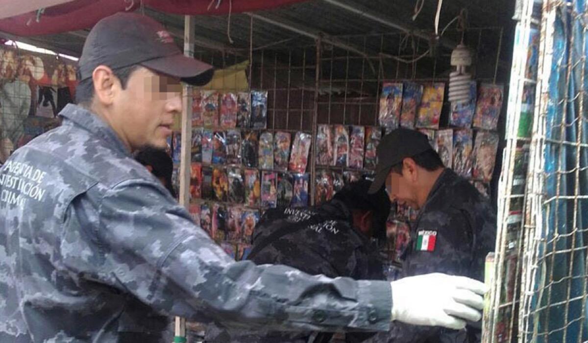 Dan golpe en Yucatán contra comercio de vídeos falsificados
