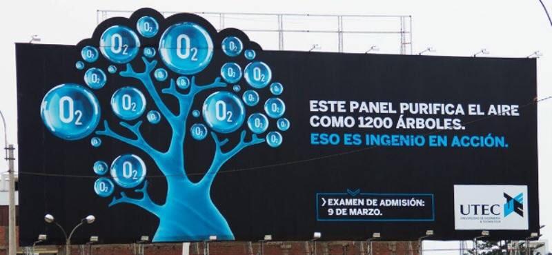 El anuncio publicitario que purifica el aire