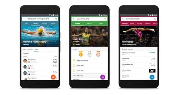 Google y Facebook transmitirán Juegos Olímpicos en vivo