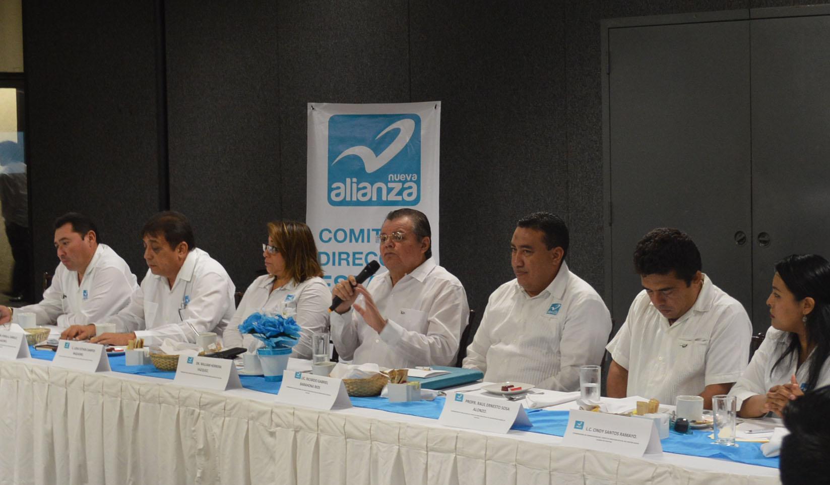 Reclama Nueva Alianza trato equitativo en Yucatán