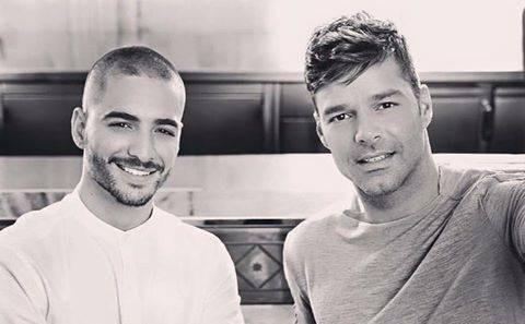 Ricky Martin y Maluma preparan colaboración