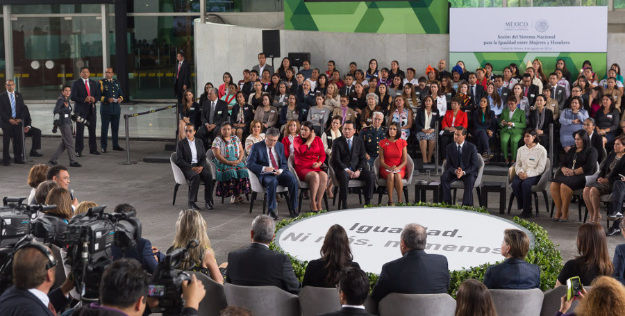 Presente Yucatán en Sesión del Sistema Nacional para Igualdad entre Mujeres y Hombres