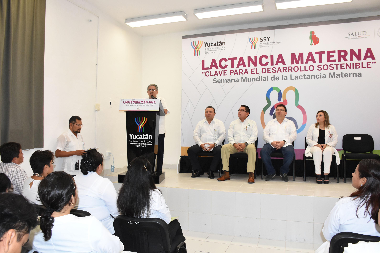 Actividades en Yucatán por Semana Mundial de la Lactancia Materna