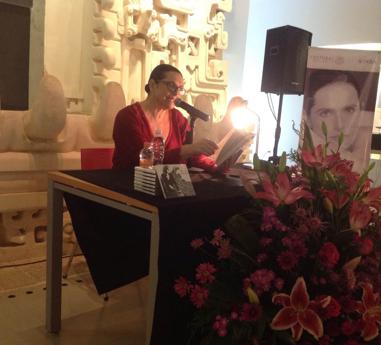 Cecilia Toussaint y su deseo de cantar en Mérida