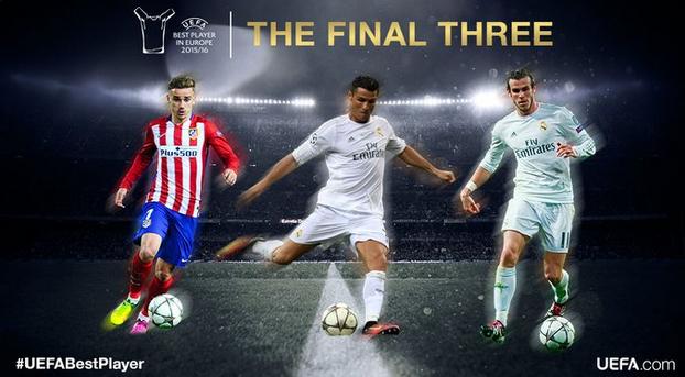 Definen a los 3 mejores jugadores de Europa; Messi queda fuera