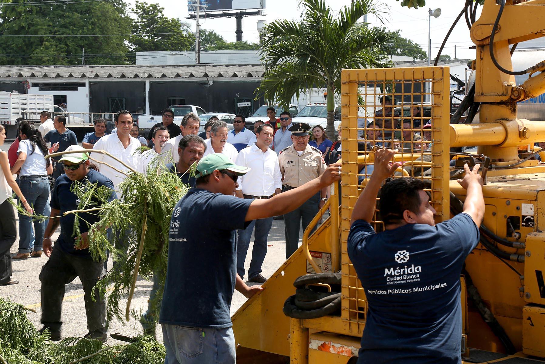Refuerza Mérida capacidad de operación en caso de contingencia