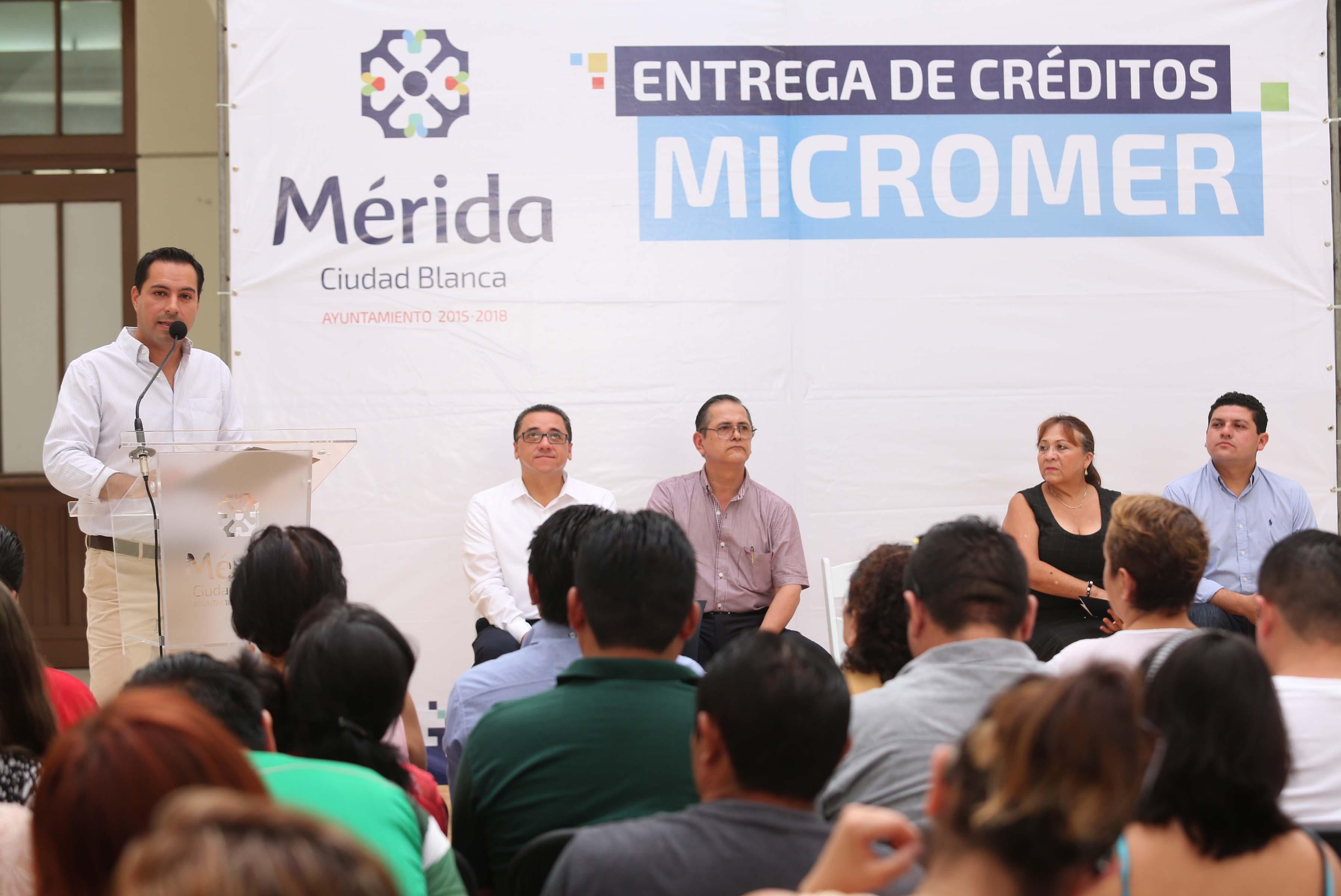 Tercera entrega créditos Micromer en lo que va del año