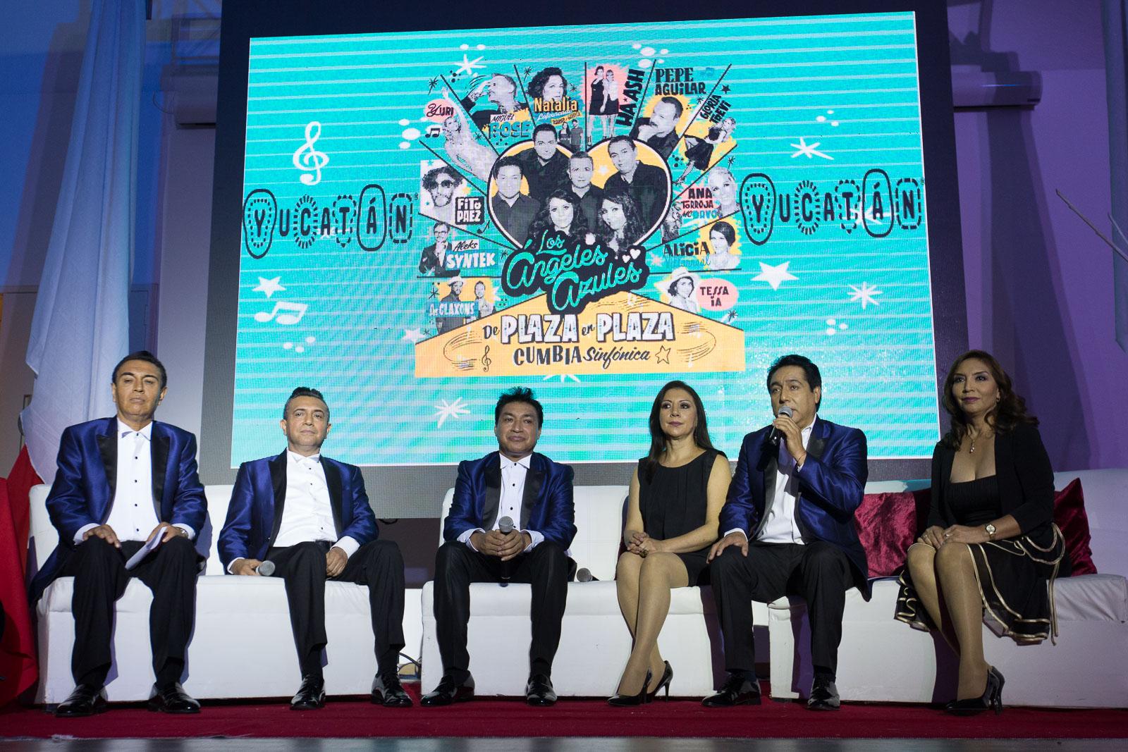 Ángeles Azules promueven atractivos de Yucatán