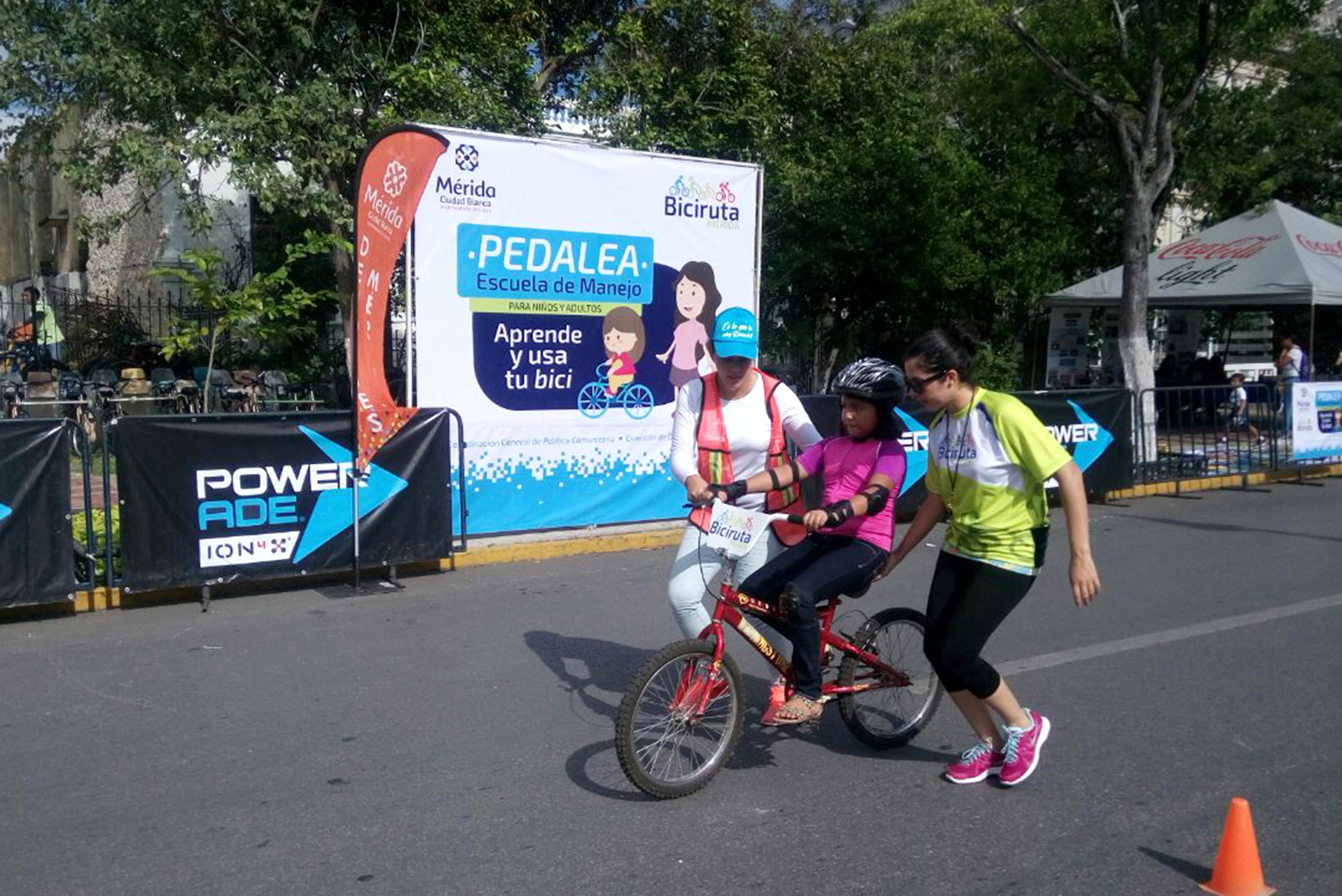 'Pedalea', opción de aprendizaje en bicicleta