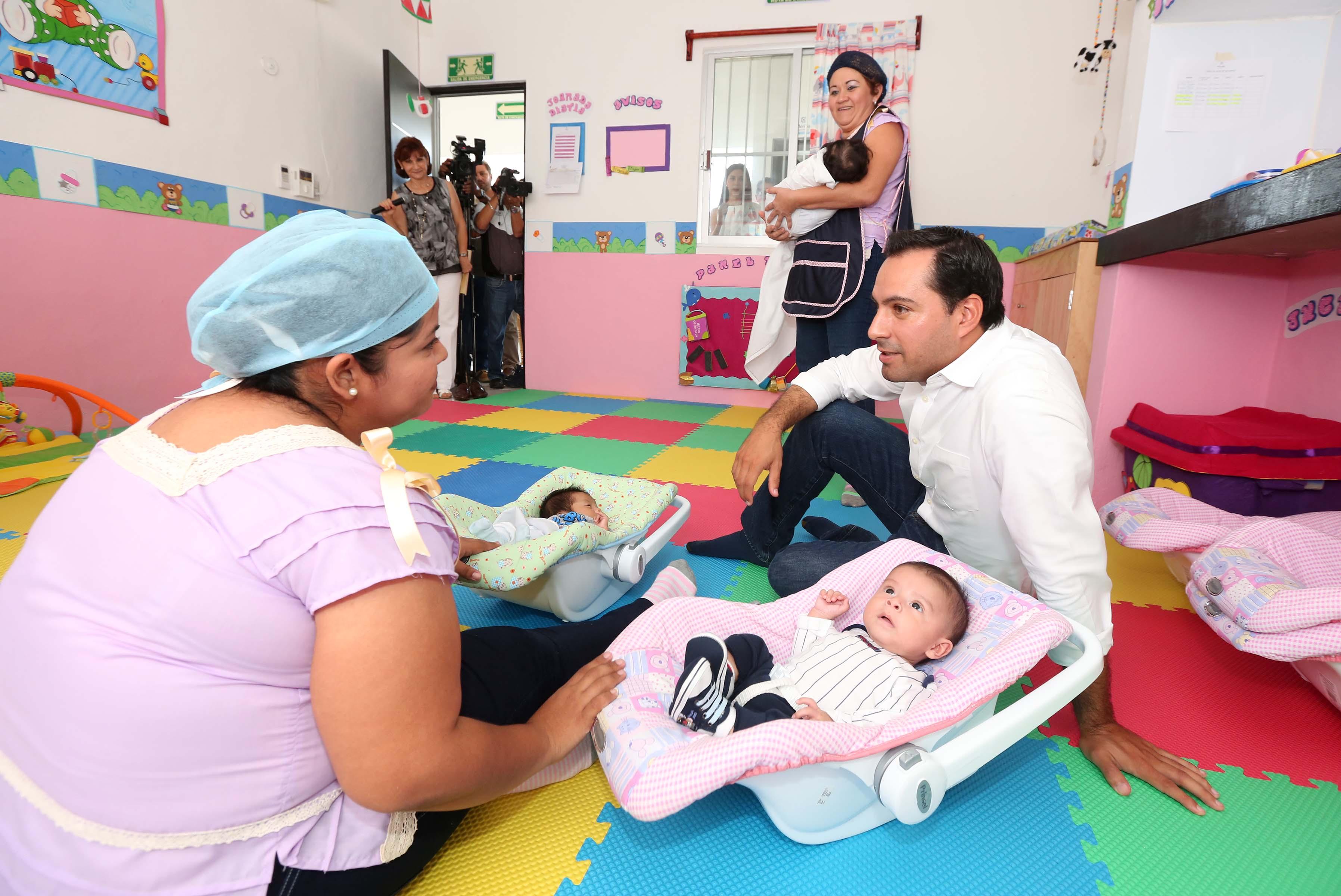 Mejoramiento de Cendi en San José Tecoh