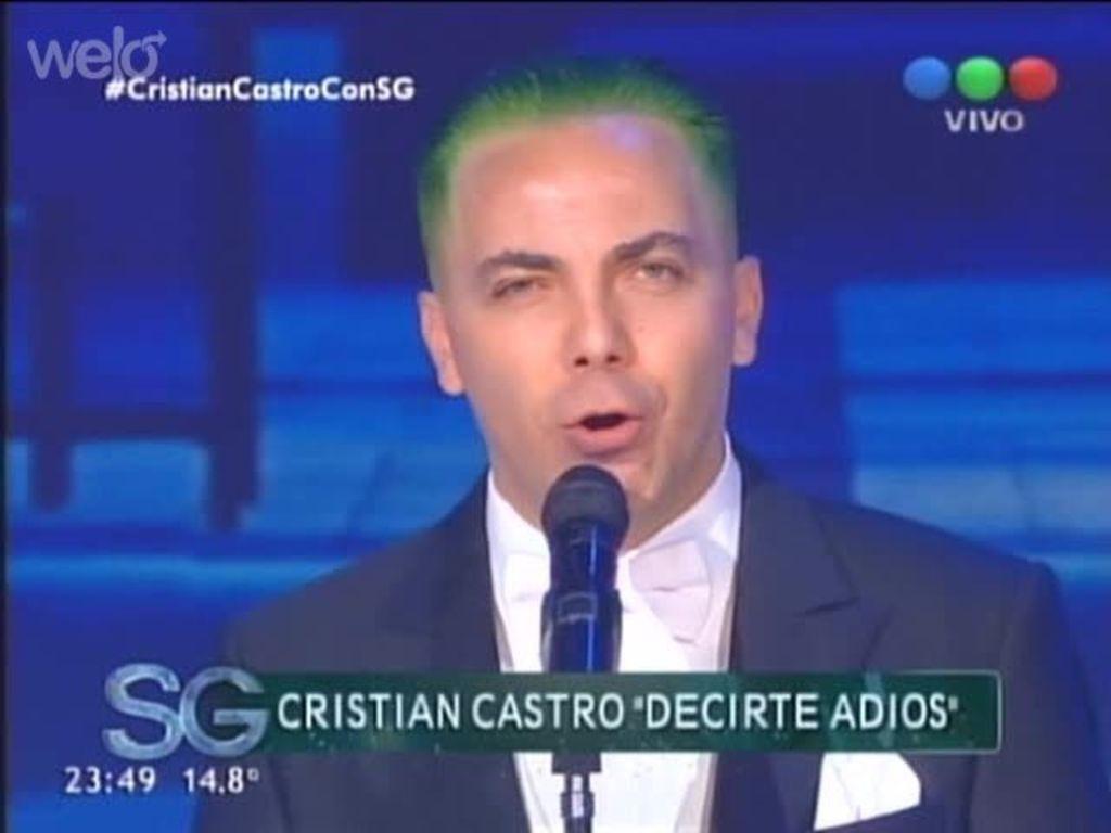 Cristian Castro… ¿el nuevo 'Guasón'?