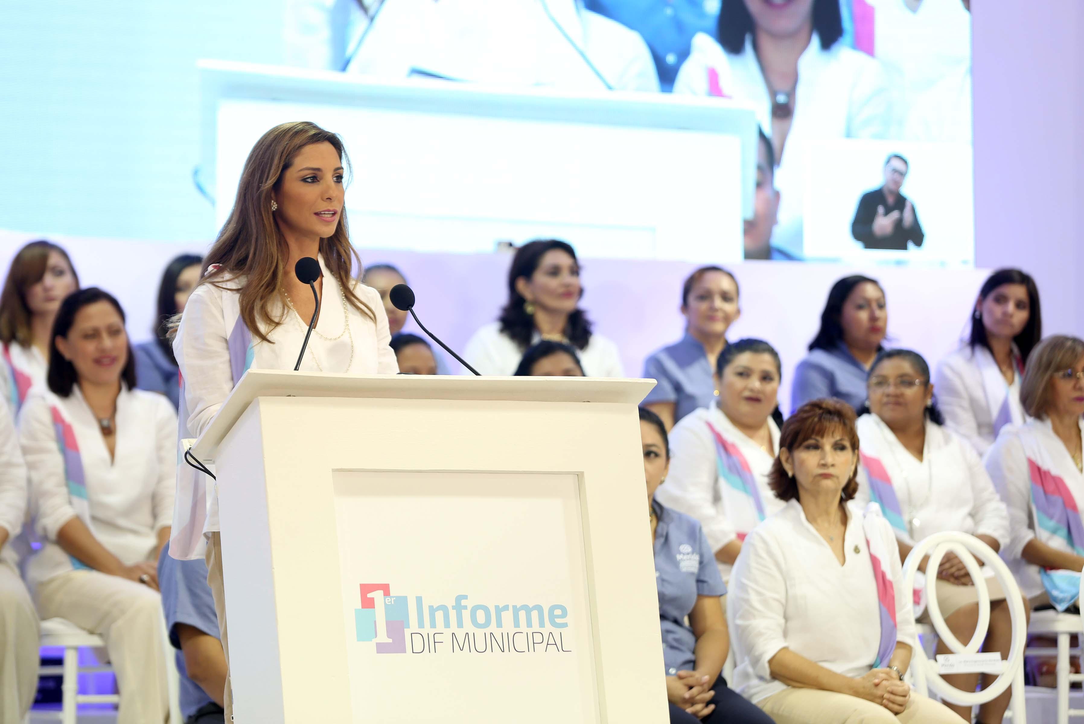 El informe del DIF municipal de Mérida