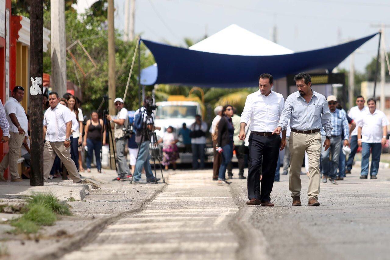 Inicia 3ª etapa de mejoramiento de infraestructura urbana en zona de El Fénix
