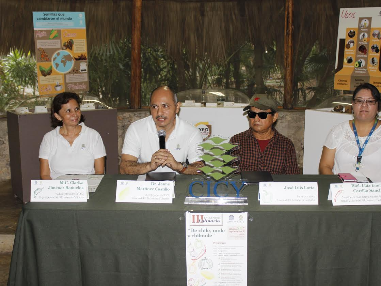 Chiles y moles, protagonistas culinarios en Mérida