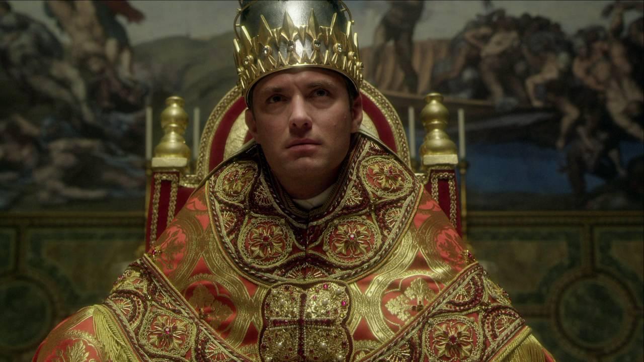 Jude Law será un Papa joven