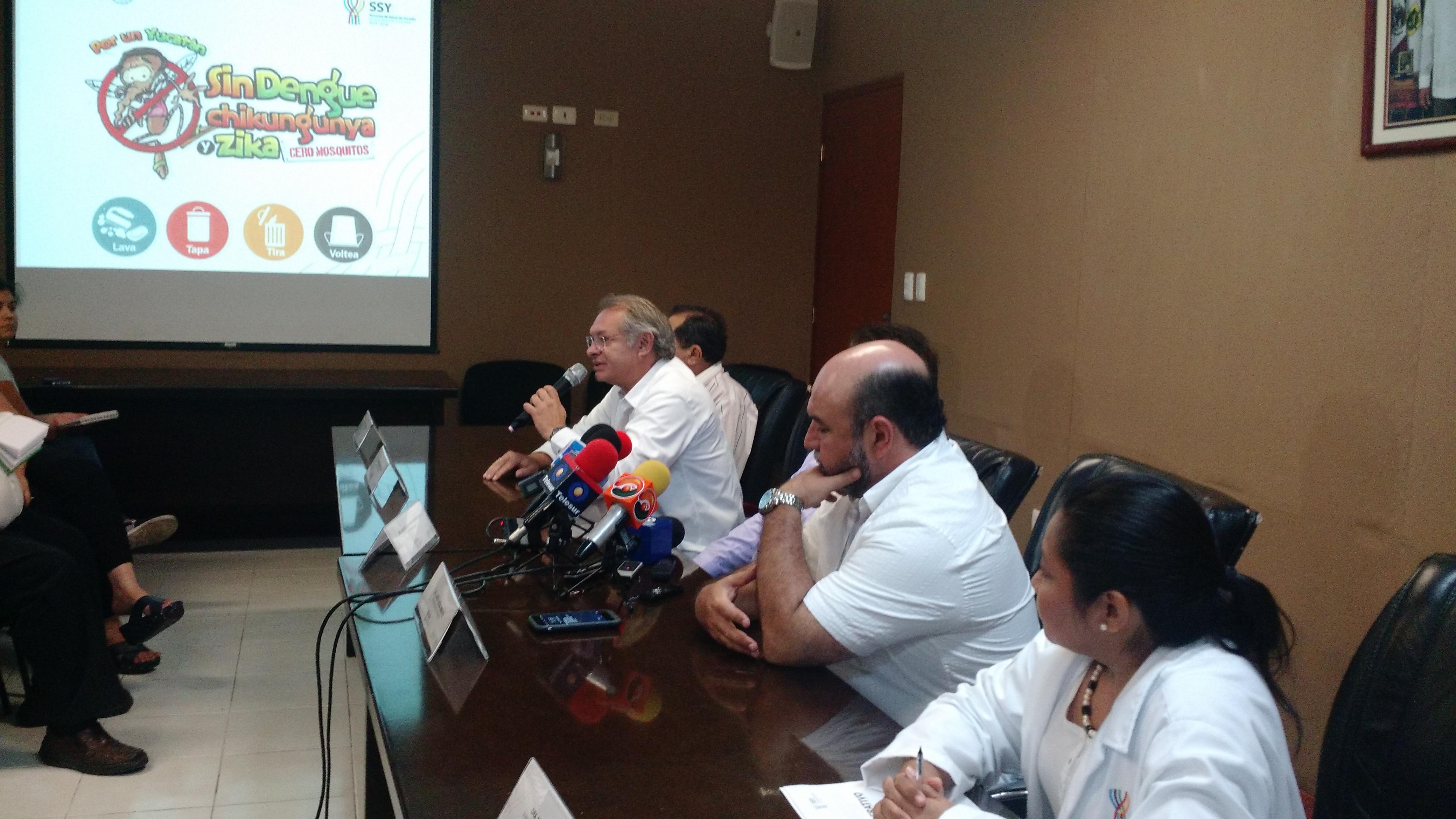 Disminuyen casos de dengue, zika y chikungunya en Yucatán