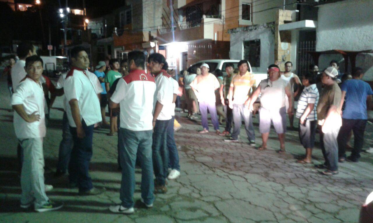 Violento estreno de Uber en Campeche