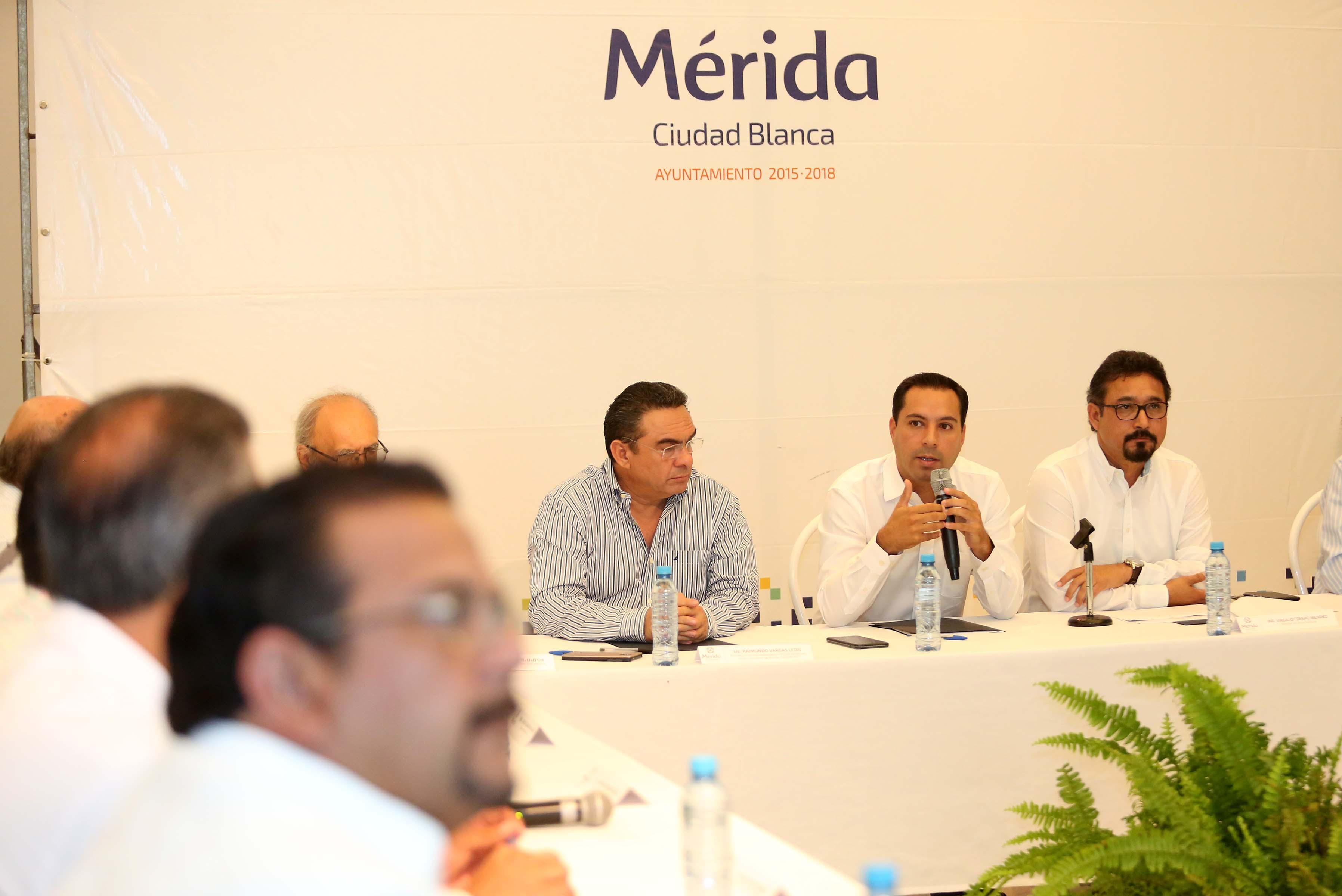 Tiene Mérida mesa para mantenimiento del Centro Histórico