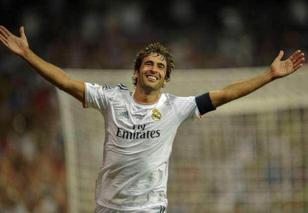 Raúl fue elegido como el mejor jugador en la historia de la liga española