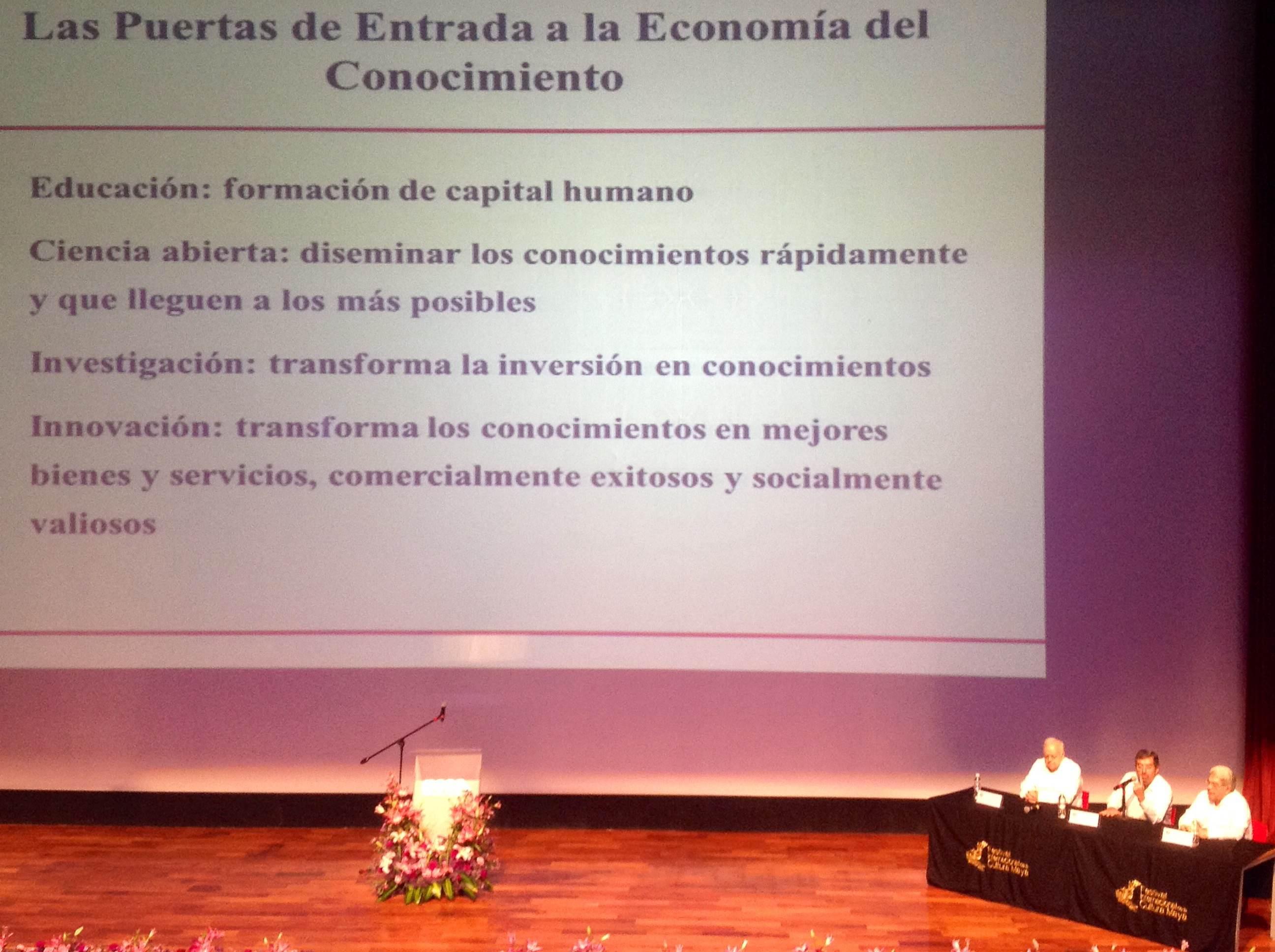 Conocimiento, esencial para desarrollo.- Juan Ramón de la Fuente