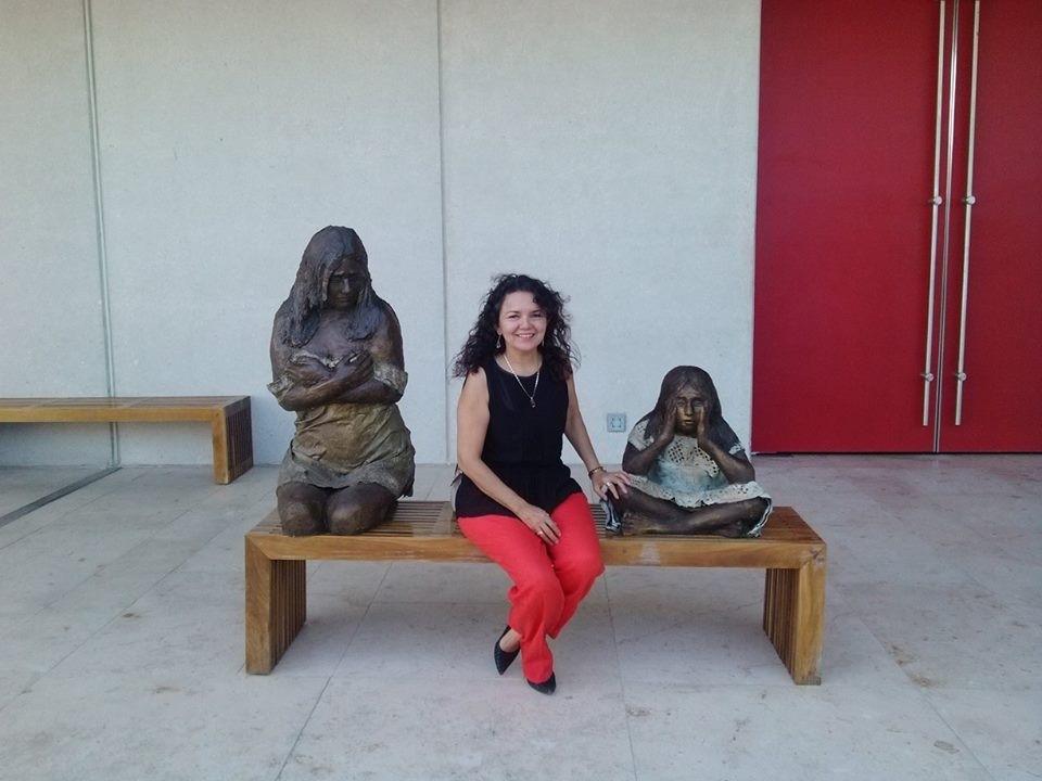 Escultora yucateca, en Bienal de Arte en Argentina