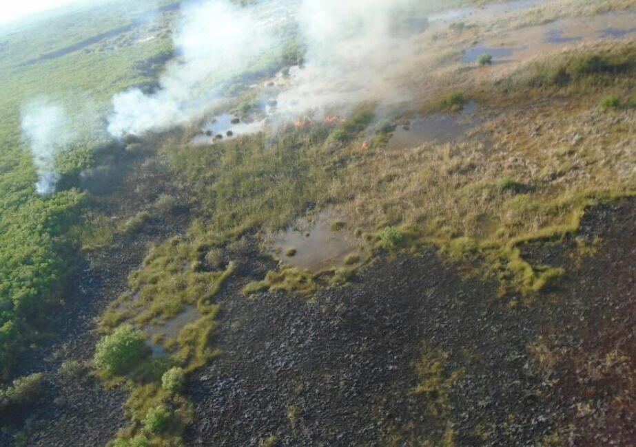Incendio a 75% de eliminación en San Felipe