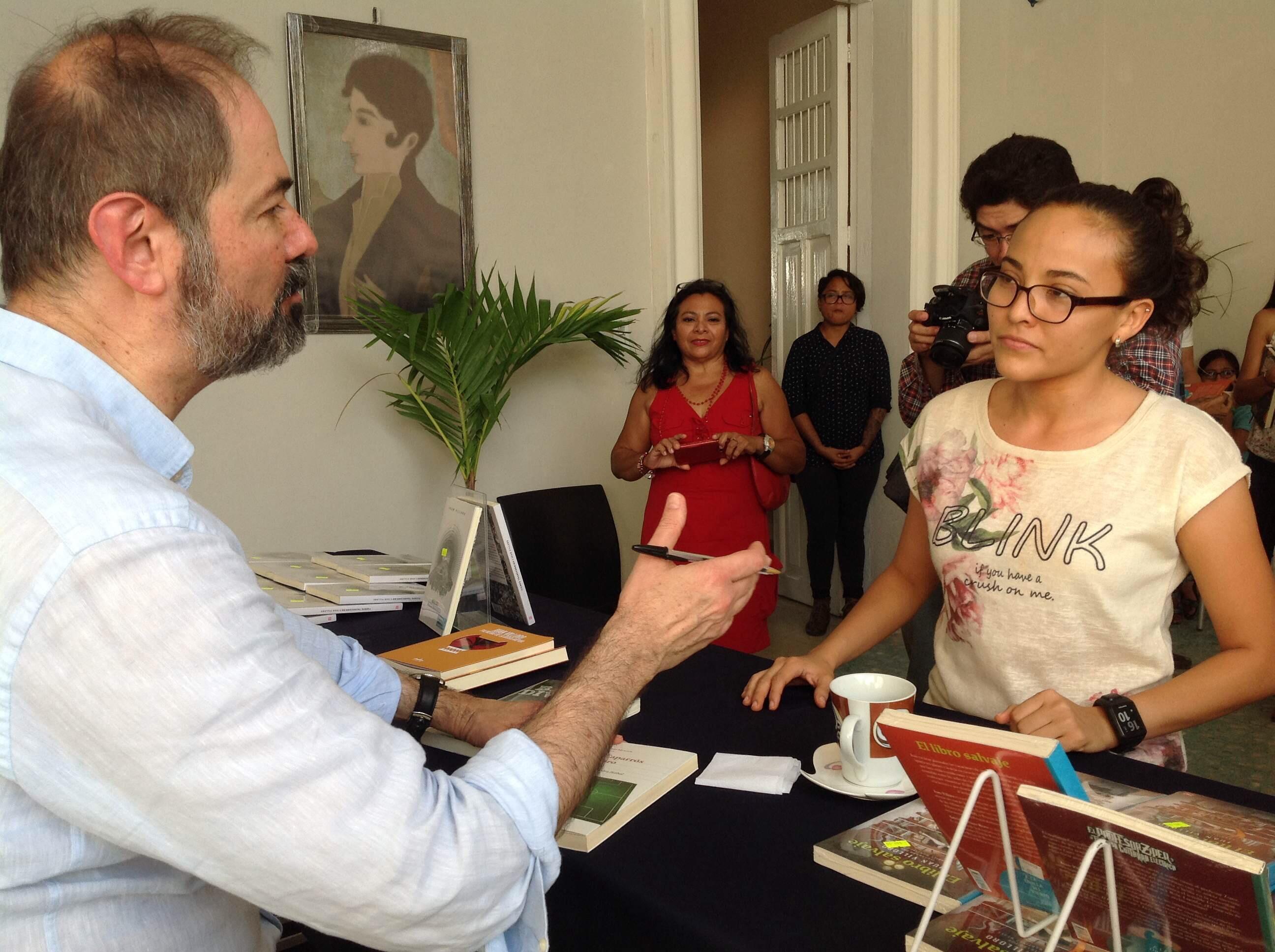 Juan Villoro y la juventud yucateca