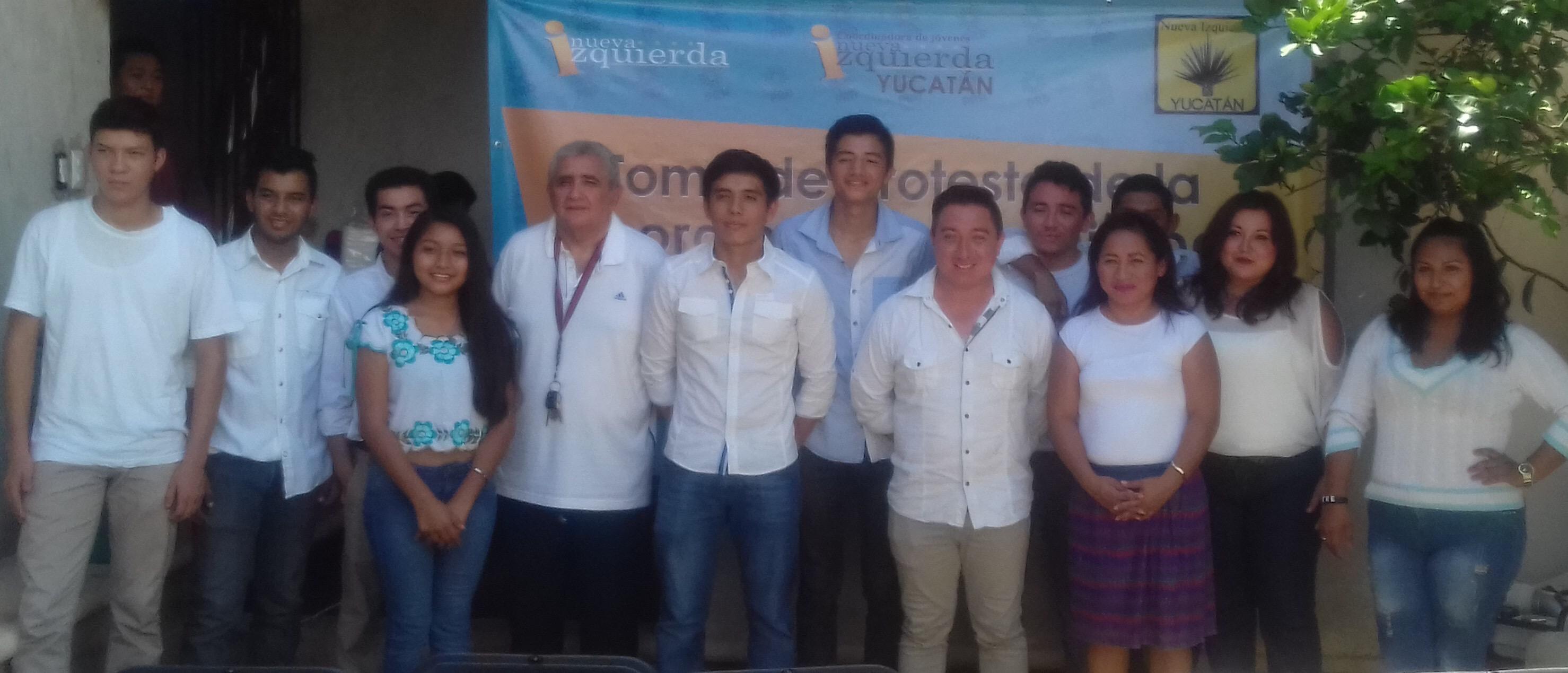 Busca PRD afiliar a más jóvenes de Yucatán