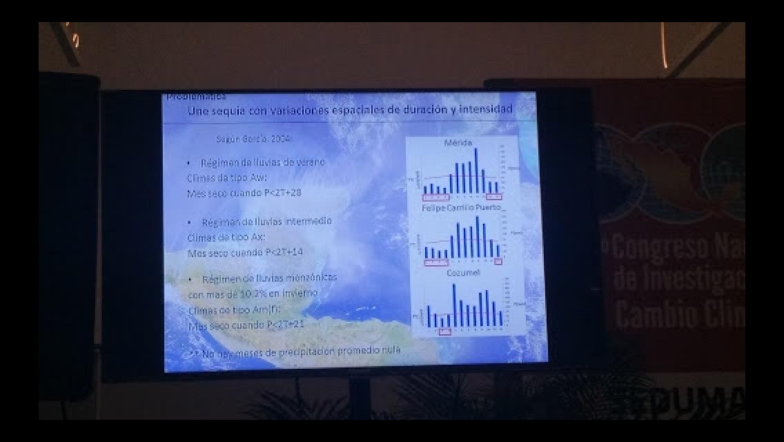 Cambio climático en Yucatán: sequías y lluvias atípicas