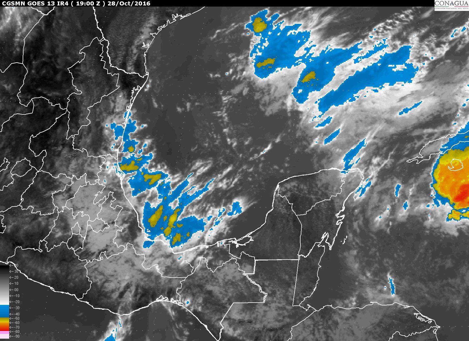 Clima inestable para fin de semana en Península de Yucatán