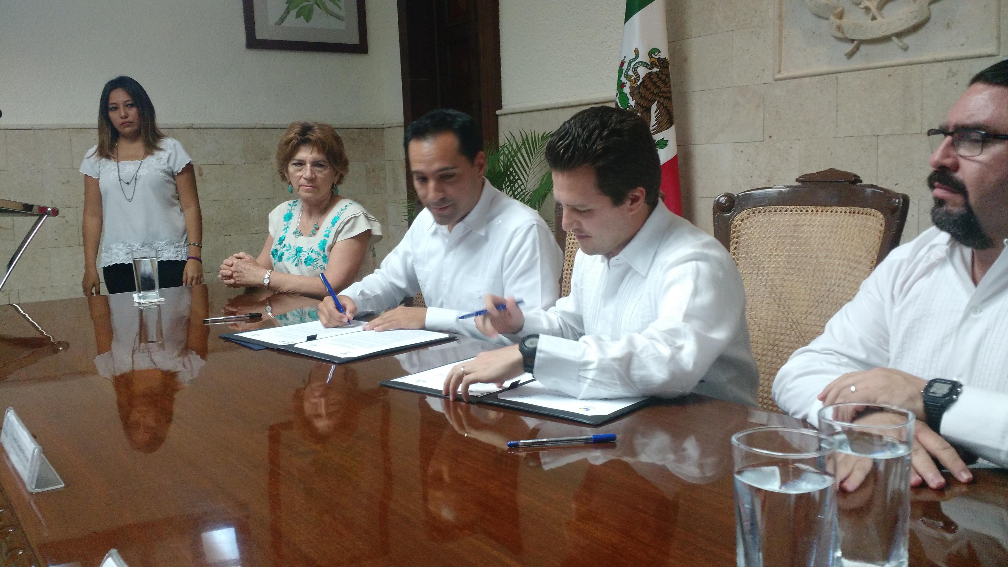 Acuerdo de intercambio entre Mérida y Villahermosa