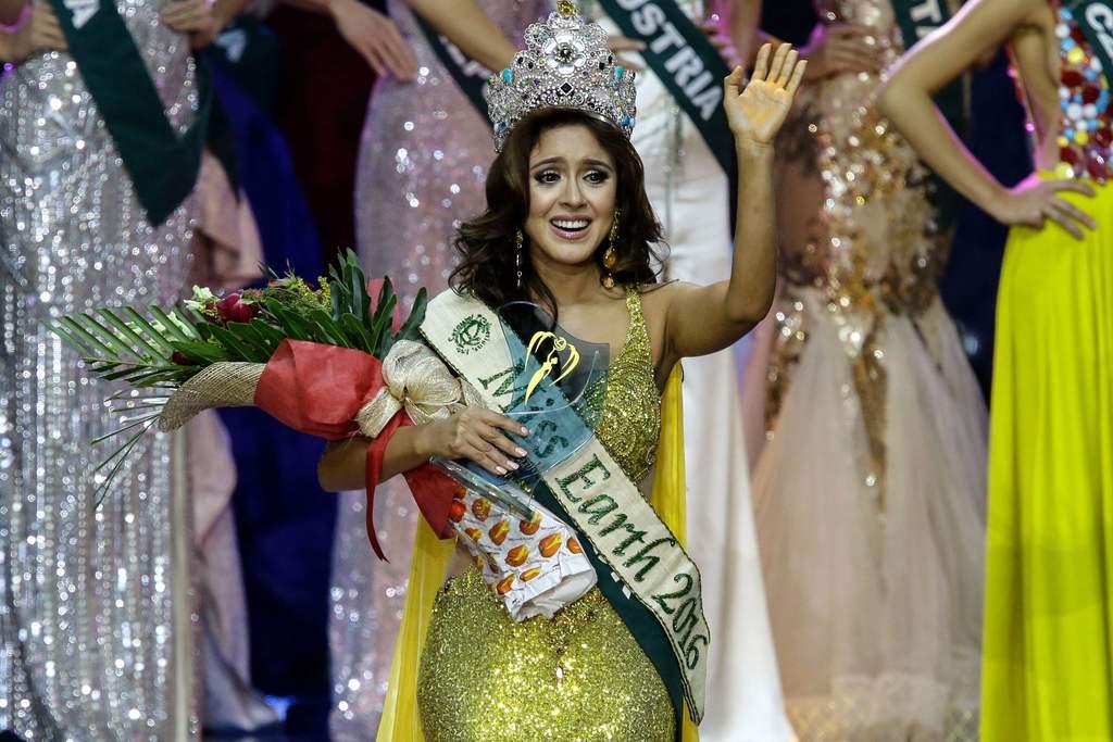 Ecuatoriana gana Miss Earth